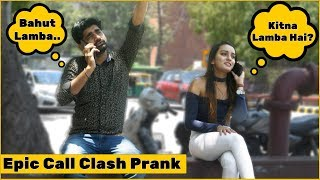 Gambar cover Epic Call Clash Prank on Cute Girls | The HunGama Films