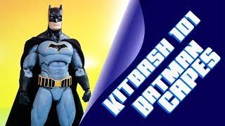 Kitbash 101 Batman Custom Cape Template and Installation