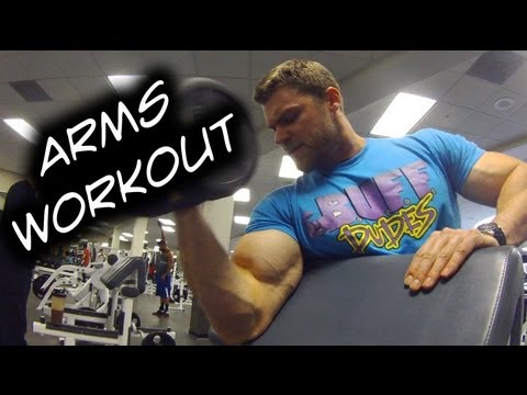 Gym Workout / Arms - Biceps Triceps Exercises / Sets n' Reps