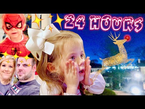 24 HOURS of CHRISTMAS MAGIC! | Vlogmas Special | Cullen & Katie