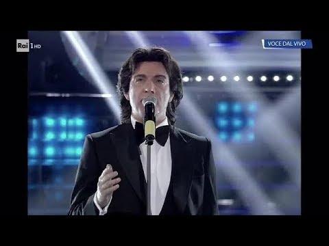 Massimo Di Cataldo è Riccardo Fogli: