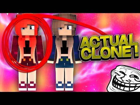 CREATING AN NPC CLONE OF A PLAYER! (Minecraft Trolling Ep 130)