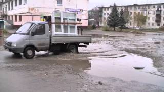 Видео о состоянии улицы Ломоносова
