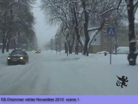Drammen winter scene 1