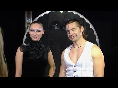 """Andrei Gomonov original Knife Show, Circus """"Enchanted"""", South Africa"""