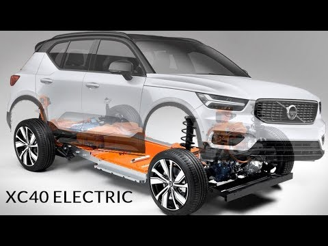 2021 Volvo XC40 Electric SUV - Preview - YouTube