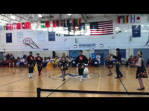 ETHNIC FESTIVAL MATHER HS/ RUSSIAN CLUB PERFORMANCE 2018