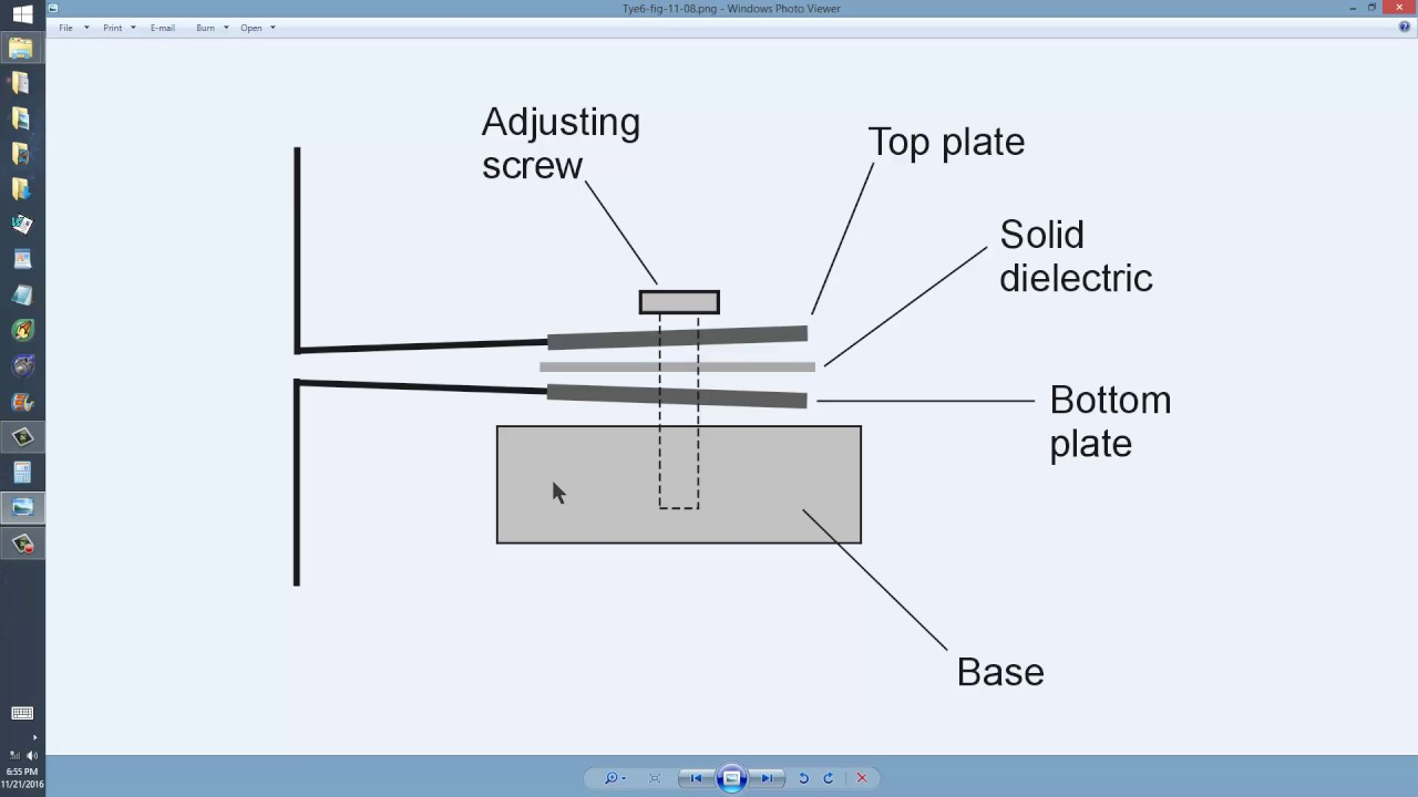 Variable Capacitor Construction