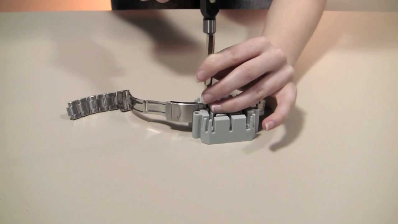 Deluxe Watch Band Tool Pin Pusher