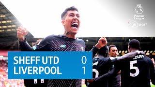 Sheffield United vs Liverpool (0-1) | Premier League Highlights