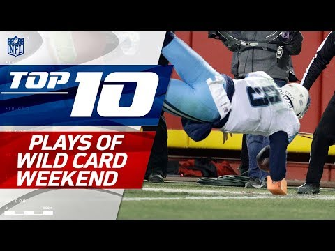 Top 10 Plays of Wild Card Weekend! | NFL Highlights