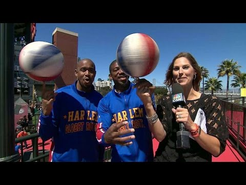 ARI@SF: Broadcast interviews the Harlem Globetrotters