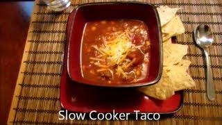Slow Cooker Sunday: Taco Chili