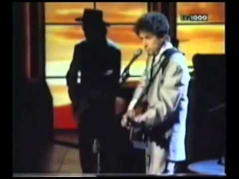 """Restless Farewell,"" Bob Dylan, High-Quality (Frank Sinatra's 80th Birthday Tribute, 1995)"