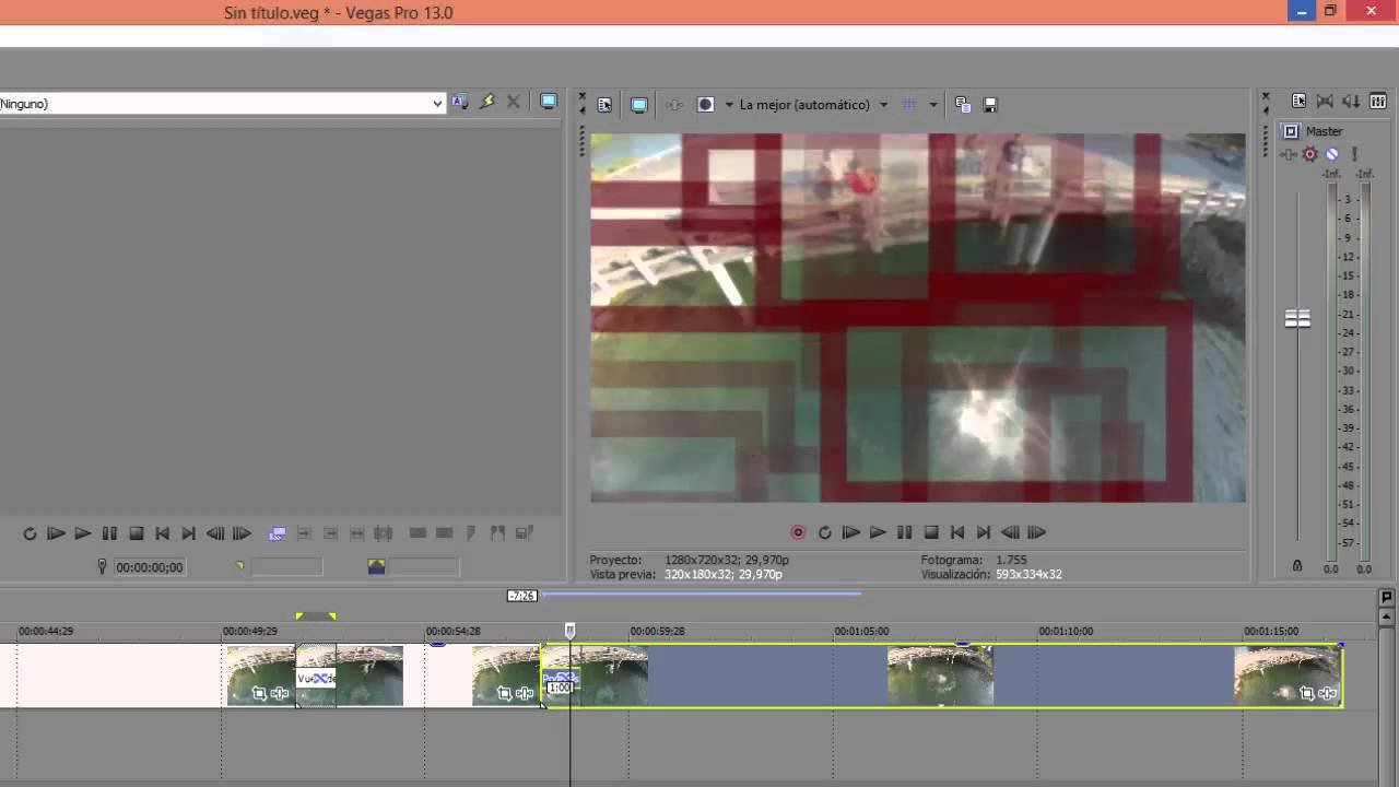 SONY VEGAS 13 - Congelar imagen - YouTube
