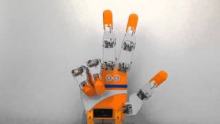 [教育機関との取組み] SCOOVO C170を使用して、ロボットハンド「RakuyoHand2」を作成(京都市立洛陽工業高校)