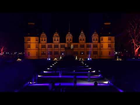 Parkillumination im Neuhäuser Schlosspark 2020