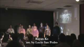 Bayan Ko sung by Viva Voce at Lopez Museum & Library