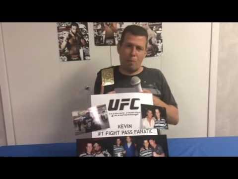 Zuffa, LLC - Fight Pass Fanatic Promotion: Kevin H.