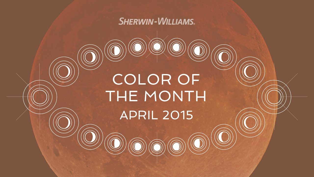 April 2015 Color Of The Month Decorous Amber Sherwin