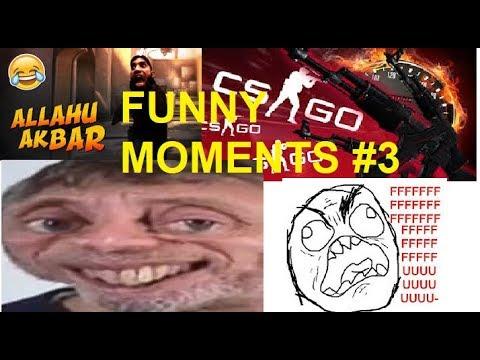 FUNNY MOMENTS #3 Fail Ninja/ Allah śpiewa W CSGO / Betowanie !!!