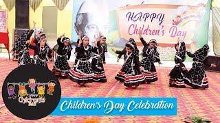 Rajasthani Dance (Kalbelia) Performance By Std 1st | Children's Day | Nachiketan Public School