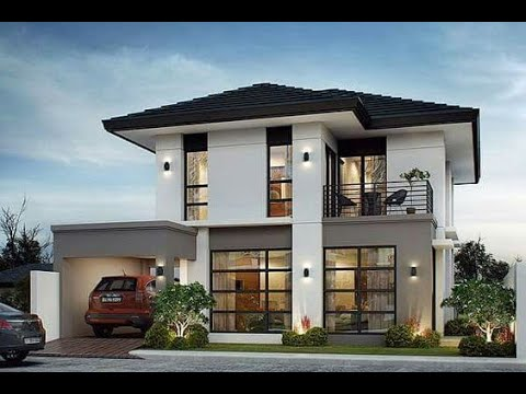 8 Modern Design Ideas For Two Story Houses Youtube