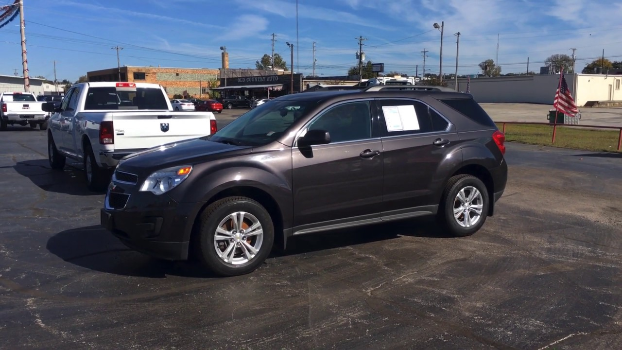 Old Country Auto >> 13 Chevy Equinox 10327 Youtube