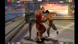"Urban Reign - Marshall Law & Paul Phoenix ""What if Tekken Tag 2 was like this"""
