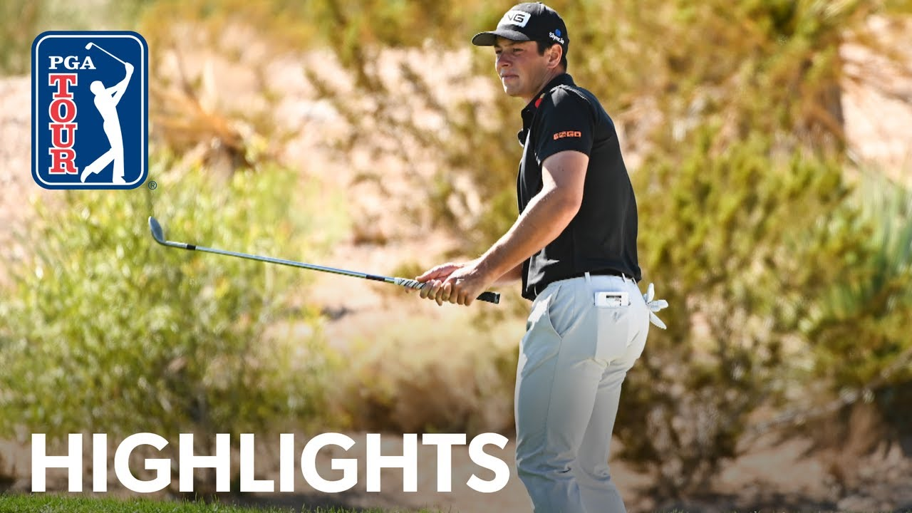 Viktor Hovland shoots 4-under 68 | Round 2 | THE CJ CUP | 2021