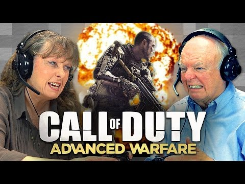 CALL OF DUTY: Advanced Warfare (Elders React: Gaming) video