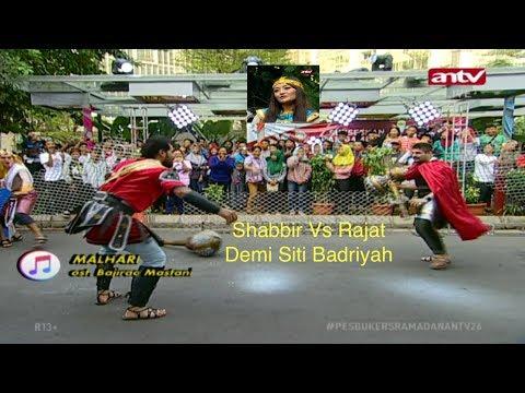 Shabbir Melawan Rajat! Pesbukers Ramadan ANTV 10 Juni 2018 Ep 26