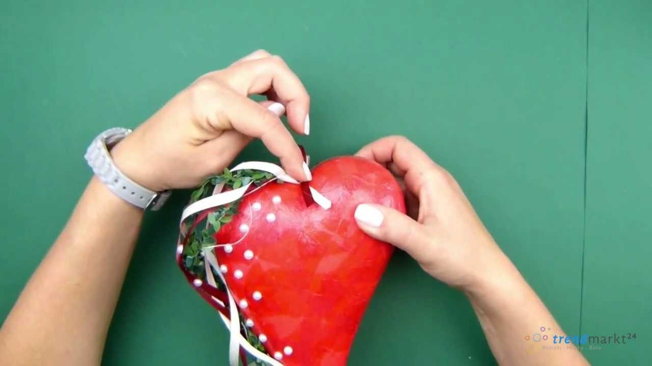 Hochzeitsherz basteln tolle bastelidee und anleitung f r for Weihnachtsgeschenke basteln fa r erwachsene