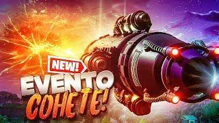 🔴 NUEVO EVENTO FINAL *LANZAMIENTO DE COHETE* DE FORTNITE EN DIRECTO AHORA MISMO!!