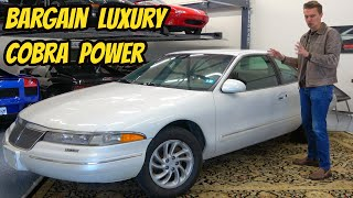 The Lincoln Mark VIII Is the Best Cheap Luxury Car For Under $5000