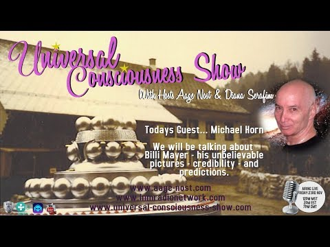 MICHAEL HORN ---  Universal Consciousness Show 11-23-18