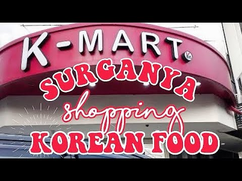 K Mart Jakarta Surganya Belanja Korean Food Supermarket Korea Youtube