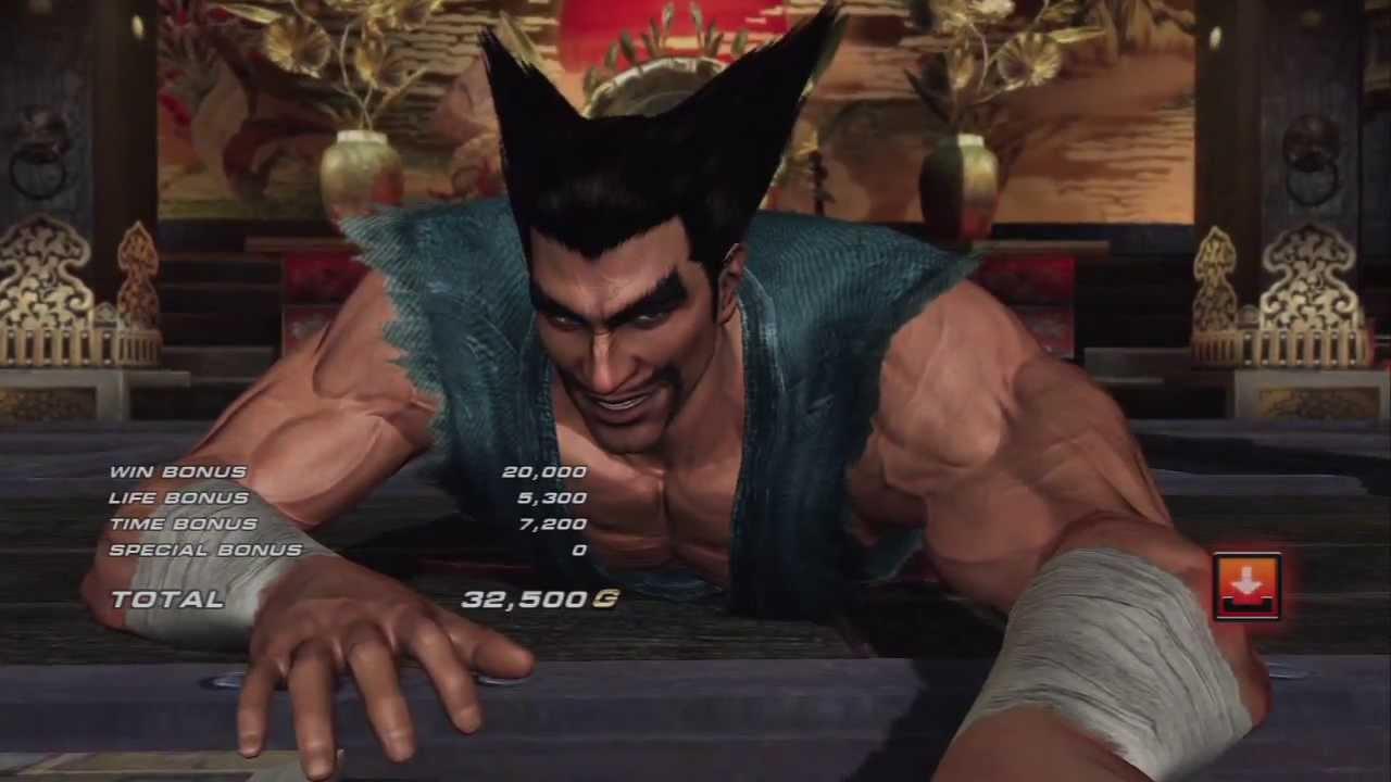 Tekken Tag Tournament 2 Heihachi Mishima Youtube