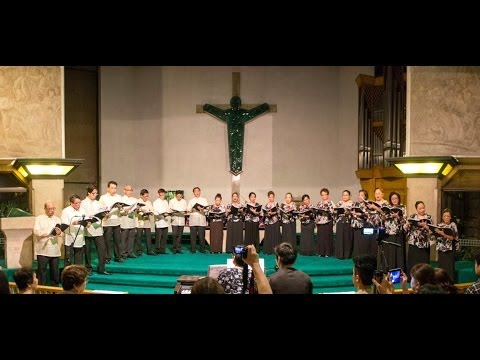 MET Chorus'  DEO GRATIAS  Reunion Concert 2014 Part I