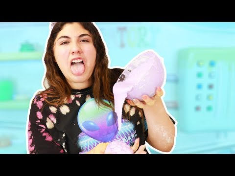 TRYING MY OWN FIRST SLIME TUTORIALS ~ Slimeatory #384