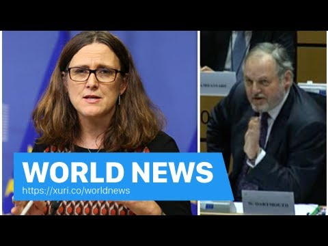 World News - EU Trade Commissioner ADMITS UK will attack dealing around the world easily after Brex