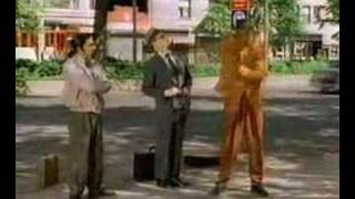 Mr Wiggles on Sesame Street