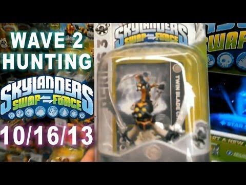 Kvlog - Skylanders Swap Force Hunting Wave 2 Toys R Us!