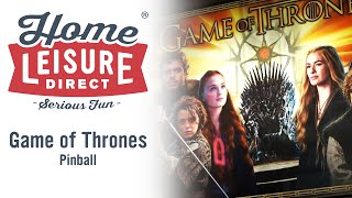 Game of Thrones Pinball Machine (STERN 2015)