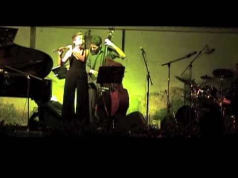 Nancy Stagnitta, flute: Jazz Concert in Italy, July 2008.mov