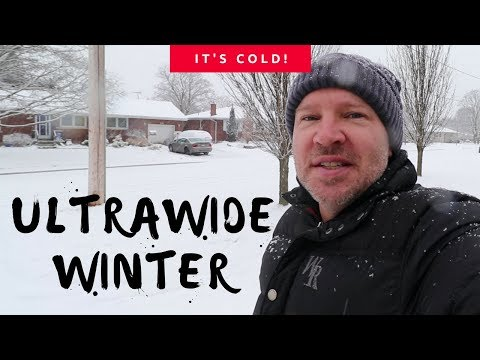 ULTRAWIDE WINTER - Quick Canon 10-18mm WIDE Demo (Canon SL2)