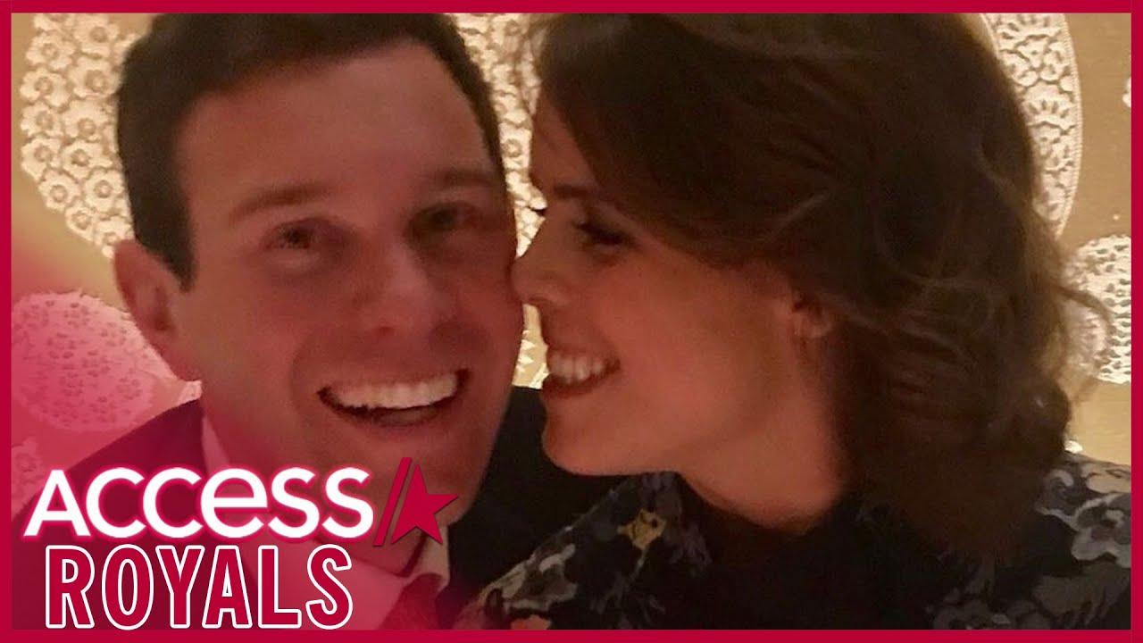 Princess Eugenie Shares Rare Selfie W/ Husband Jack Brooksbank