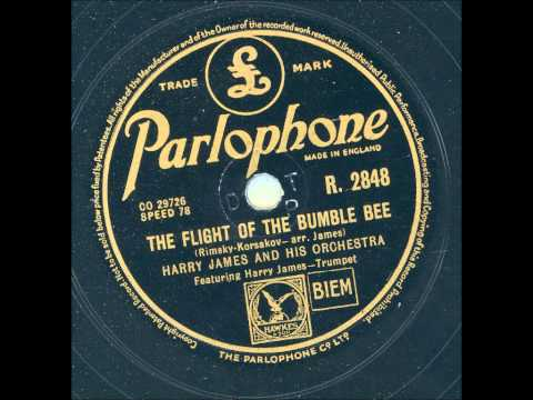 Harry James and his orchestra - The flight of the bumble bee