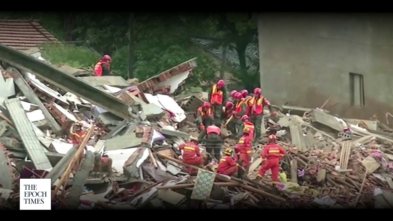 Landslide Buries 9 in Central China as Country Suffers Worst Floods in Years | China Insider