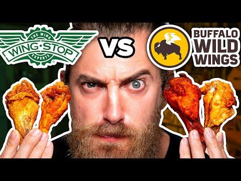 Wingstop vs. Buffalo Wild Wings Taste Test